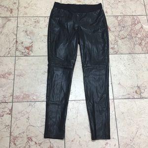 Ann Taylor Faux Leather Legging Pants